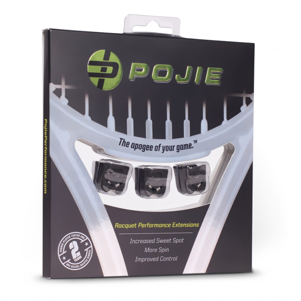 POJIE RACQUET PERFORMANCE EXTENSIONS 3 PACK
