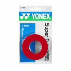 ΑΝΤΙΔΡΩΤΙΚΗ ΛΑΒΗ ΡΑΚΕΤΑΣ YONEX SUPER GRAP RED