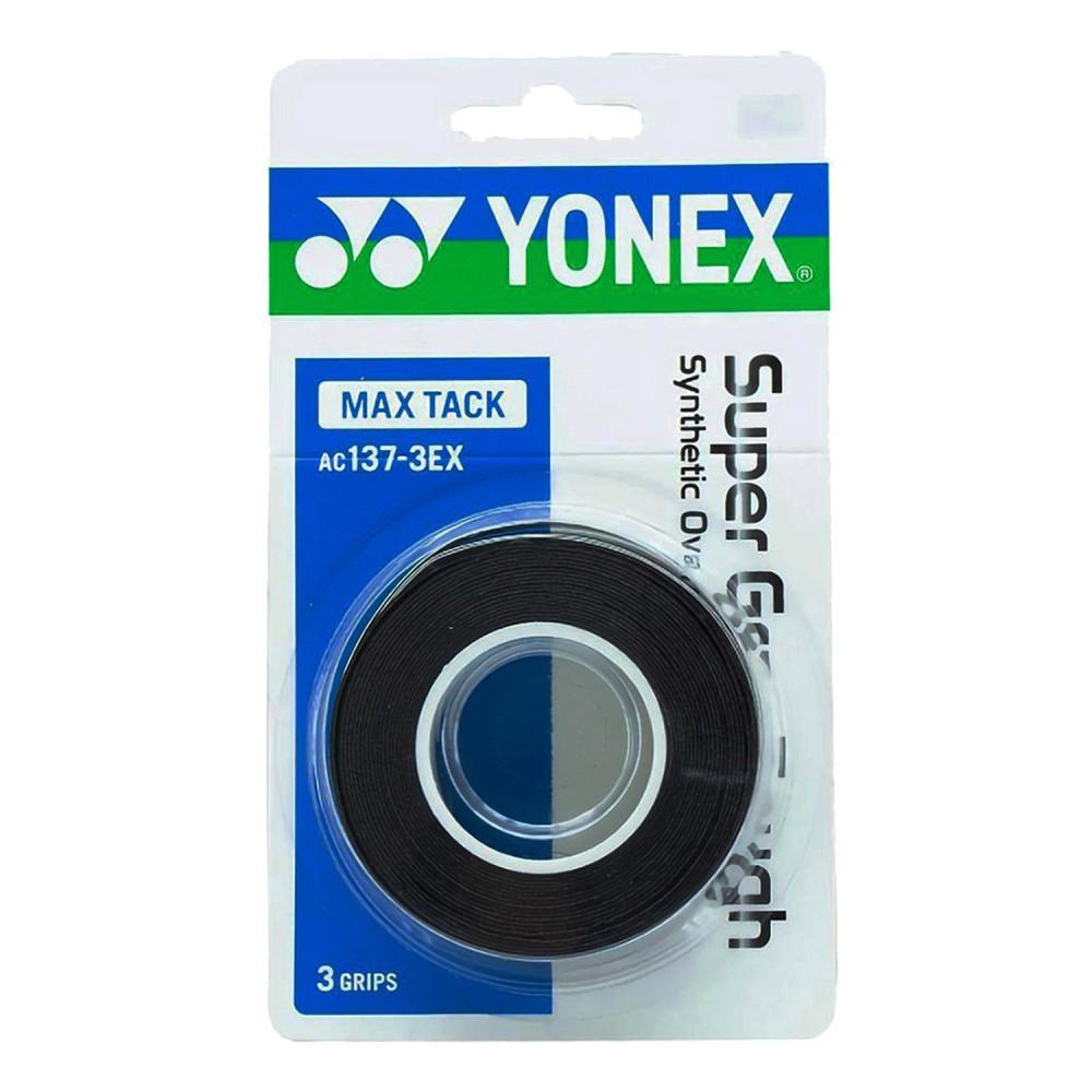 ΑΝΤΙΔΡΩΤΙΚΗ ΛΑΒΗ ΡΑΚΕΤΑΣ YONEX SUPER GRAP TOUGH BLACK