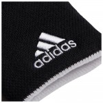 ADIDAS LARGE TENNIS WRISTBAND BLK/WHT