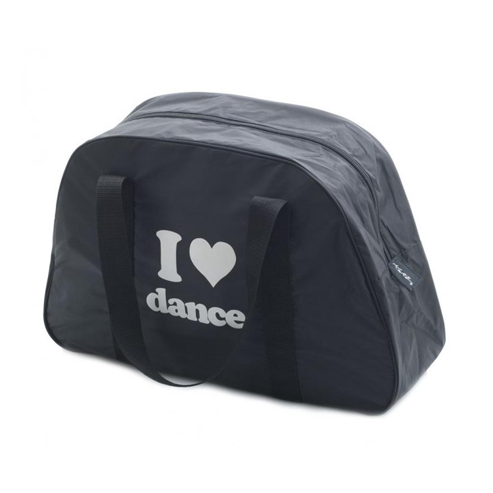 ΤΣΑΝΤΑ ΧΟΡΟΥ KATZ I LOVE DANCE SHOULDER DANCE BAG BLACK