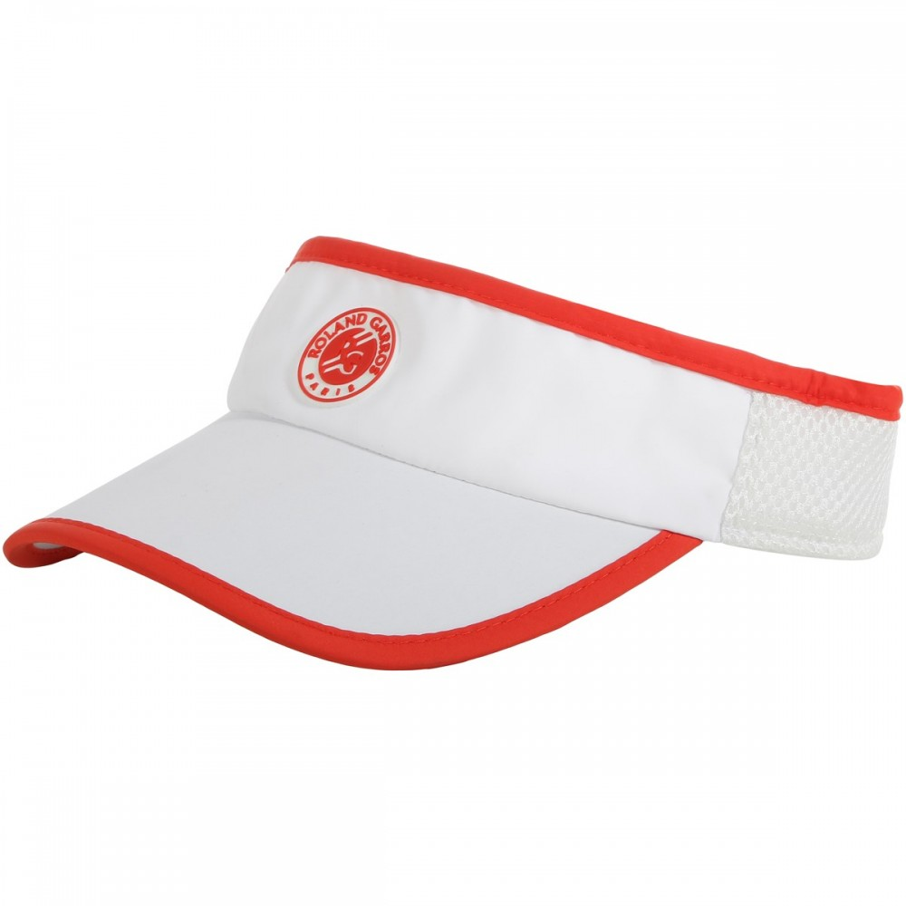 ΓΥΝΑΙΚΕΙΟ ΚΑΠΕΛΟ ROLAND GARROS PERFORMANCE VISOR WHITE