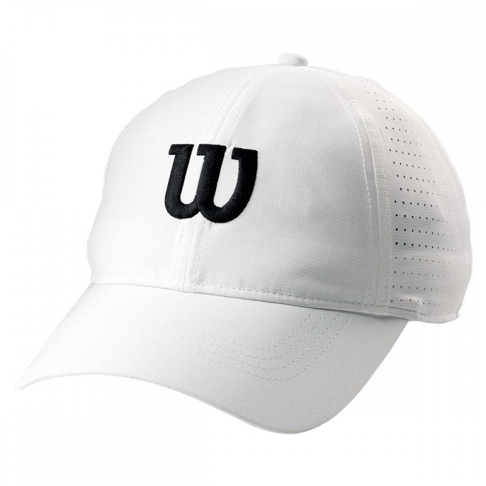 ΚΑΠΕΛΟ ΤΕΝΝΙΣ WILSON ULTRALIGHT TENNIS CAP WHITE