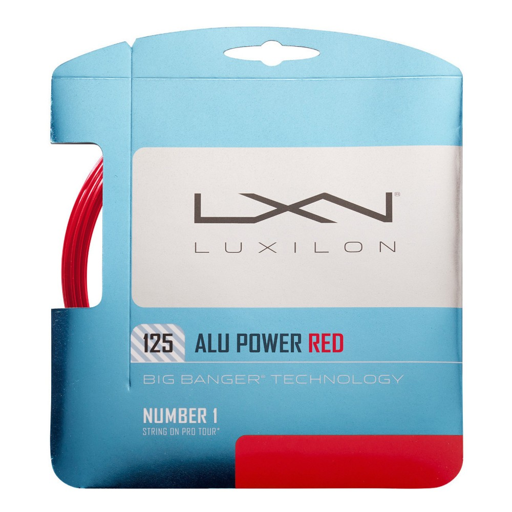 ΠΛΕΓΜΑ ΤΕΝΝΙΣ LUXILON ALU POWER 1.25 RED