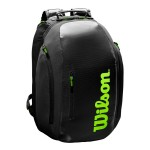 ΣΑΚΙΔΙΟ ΠΛΑΤΗΣ WILSON SUPER TOUR BACKPACK BK/GREEN