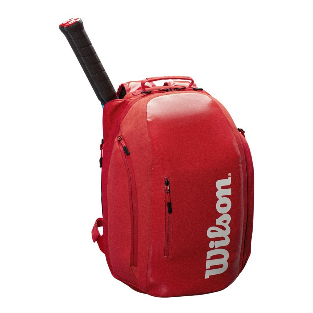ΣΑΚΙΔΙΟ ΠΛΑΤΗΣ WILSON SUPER TOUR BACKPACK RED