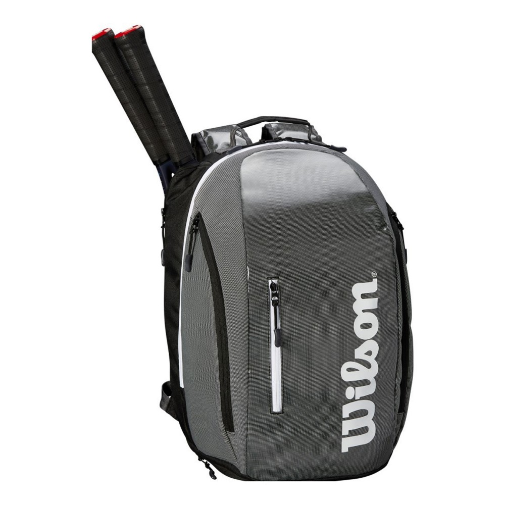 ΣΑΚΙΔΙΟ ΠΛΑΤΗΣ WILSON SUPER TOUR BACKPACK GREY