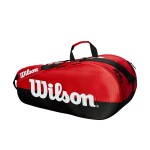 ΣΑΚΟΣ ΤΕΝΝΙΣ WILSON TEAM 2 COMPARTMENTS 6 PACK TENNIS BAGS