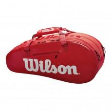 ΣΑΚΟΣ ΤΕΝΝΙΣ WILSON SUPER TOUR 2 COMPARTMENT SMALL TENNIS BAG