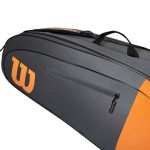 ΣΑΚΟΣ ΤΕΝΝΙΣ WILSON BURN TEAM 6-PACK TENNIS BAG