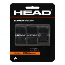 ΑΝΤΙΔΡΩΤΙΚΗ ΛΑΒΗ ΡΑΚΕΤΑΣ HEAD SUPER COMP BLACK